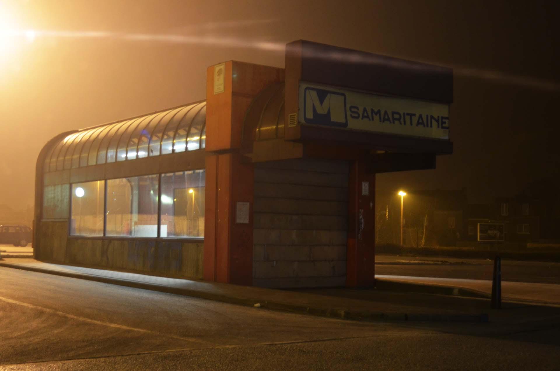 Metro Station, Charleroi