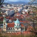 From castle, Ljubljana, Slovenia
