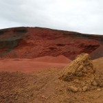 Red mine by Kerio, Iceland