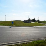 Roundabout on N4, Namur