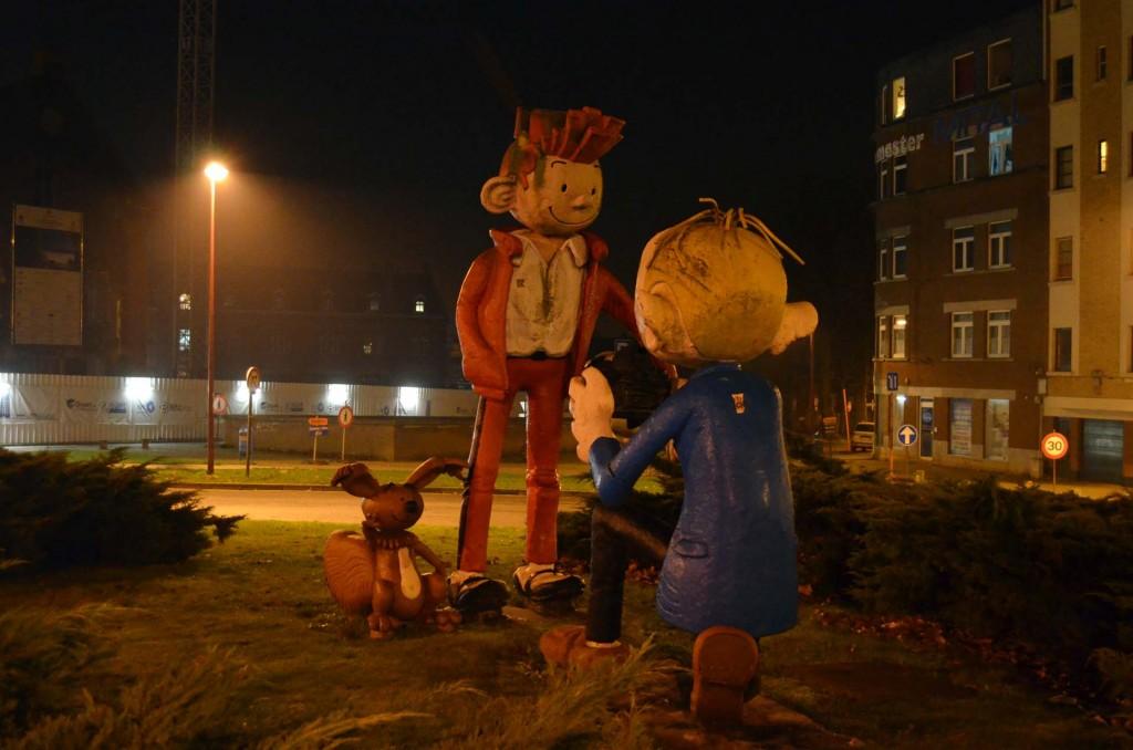 Spirou and Fantasio Roundabout, Charleroi