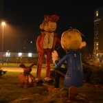 Spirou and Fantasio Roundabout, Charleroi